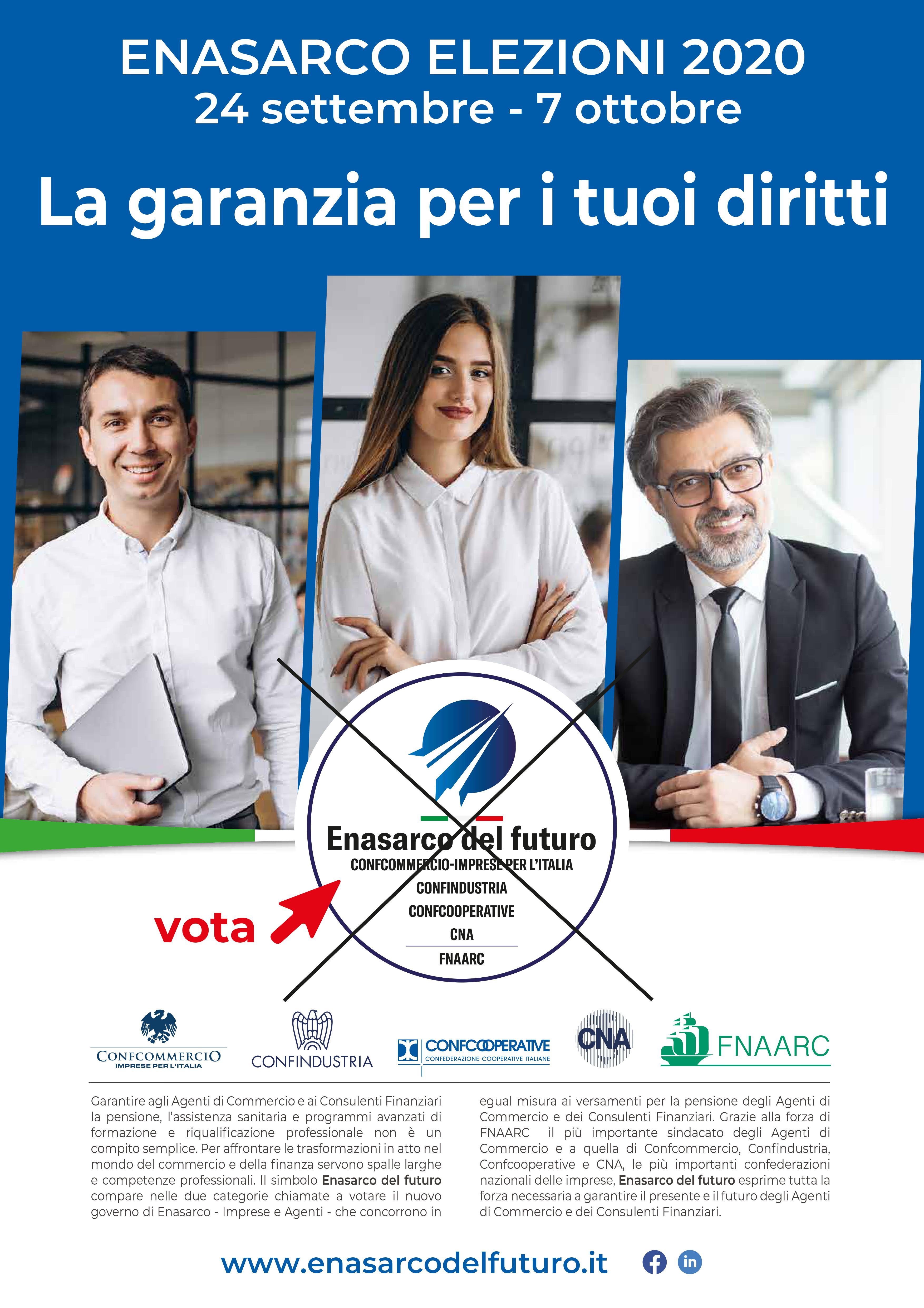 ENASARCO elezioni 2020